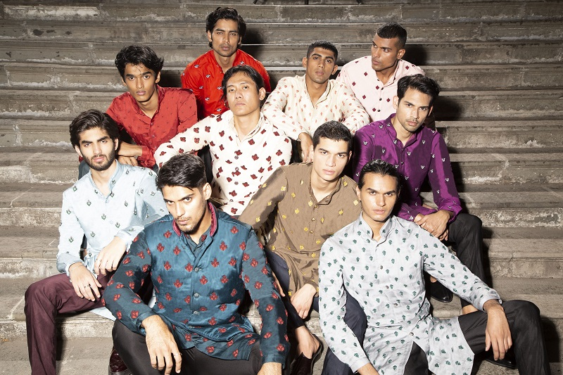 Technology enhances splendour of couture in designer Kunal Rawal's show