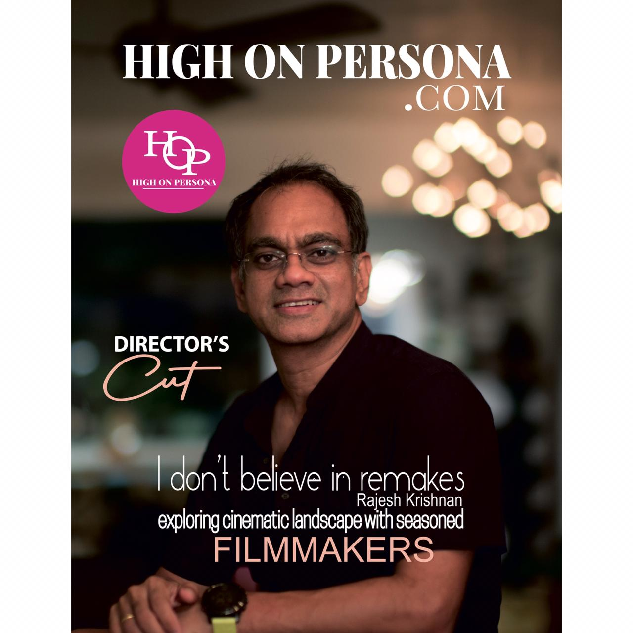 rajesh krishnan High on persona magazine